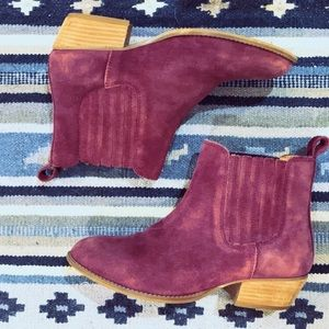 Urban Outfitters Suede Chelsea Boots